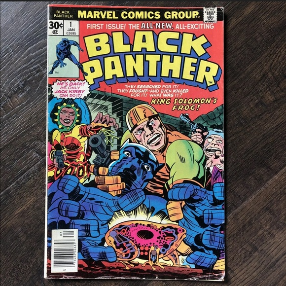 ✨SOLD ON MY EBAY✨ Black Panther 1st Issue Comic